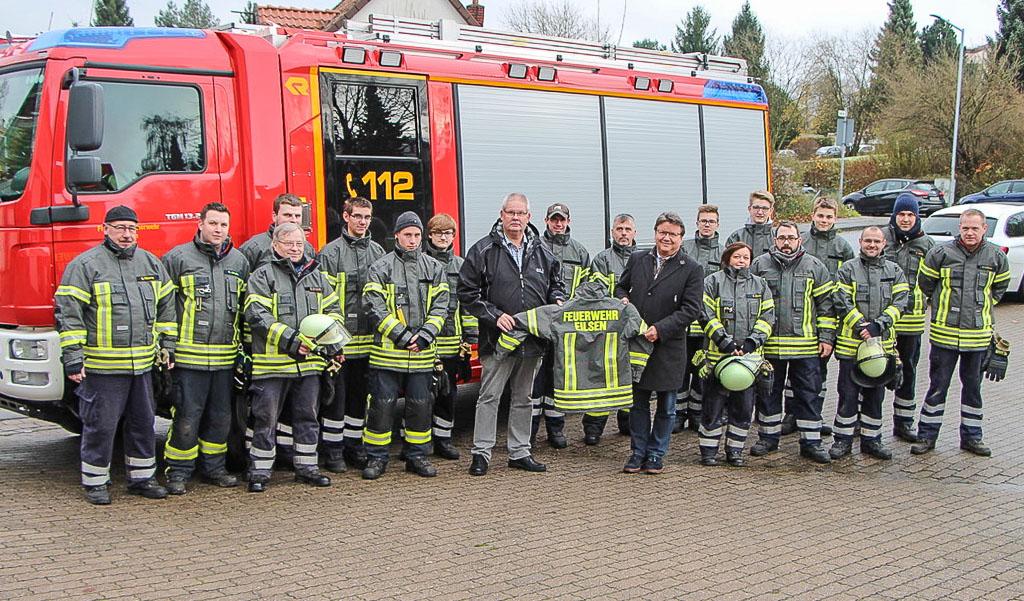 Samtgemeinde Eilsen: Neue Schutzausrüstung für die Feuerwehr