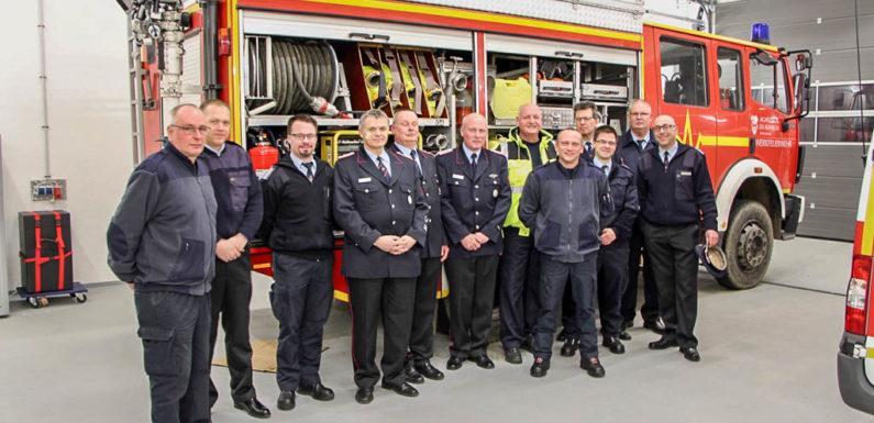 Infos für den Ernstfall: Feuerwehr Eilsen besichtigt neues Klinikum Schaumburg