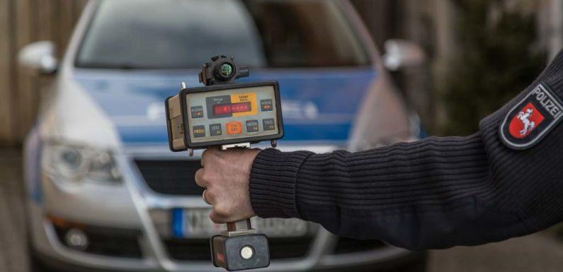 Landkreis Schaumburg: Polizei misst Geschwindigkeit