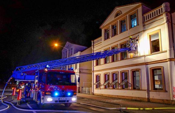Bückeburg: Feuerwehreinsatz in der Georgstraße