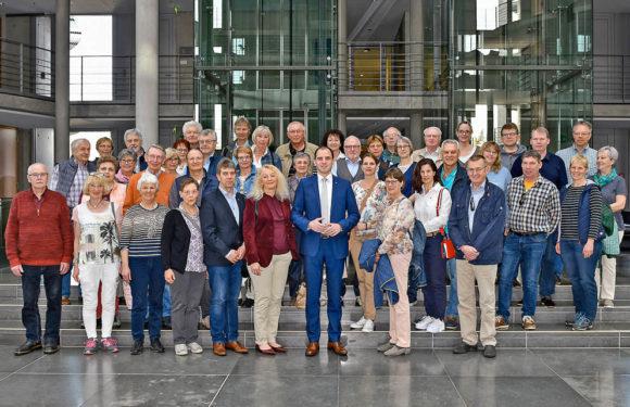 Von Rinteln bis Nienburg: 50 Besucher bei Maik Beermann in Berlin