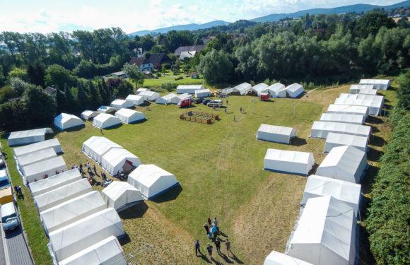 Spiel, Spaß und Spannung im Stadtzeltlager der Bückeburger Jugendfeuerwehren