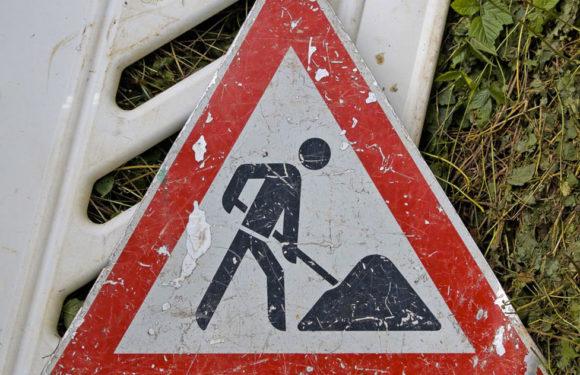 Baustelle bis September: Fahrbahnsanierung an der Landesstraße 450 von Rusbend zur Landesgrenze NRW