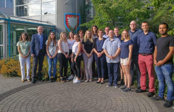 Ausbildungsbeginn beim Landkreis Schaumburg