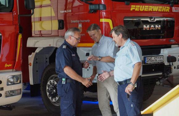Feuerwehr Stadthagen: Zwei neue Fahrzeuge auf einen Streich