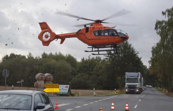 Radfahrer (84) verstirbt an Unfallstelle
