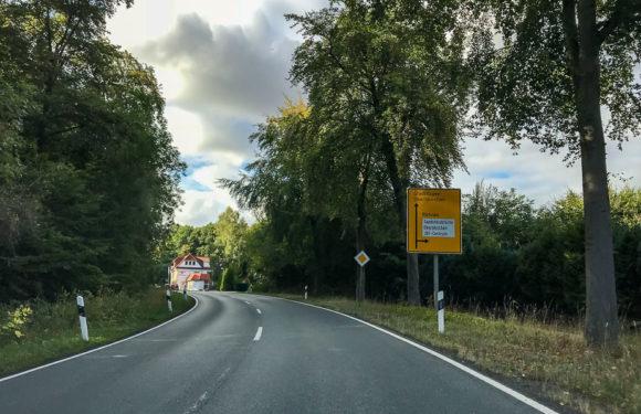 Vollsperrung der Landesstraße 442 zwischen Einmündung der K65 und Obernkirchen ab 24.10.