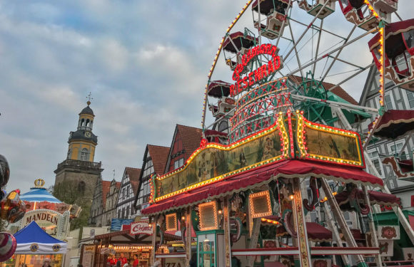 Fünf tolle Kirmestage: Rintelner Herbstmesse vom 1. bis 5. November 2018