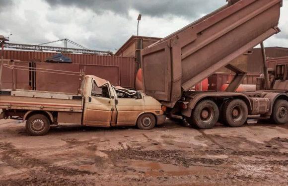 Unfall zwischen Transporter und LKW: Feuerwehr probt den Ernstfall im Bergwerk