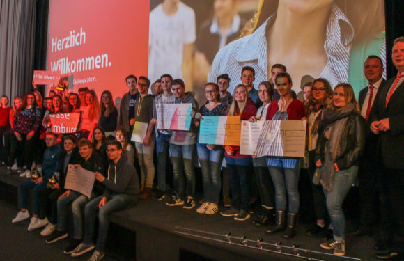 """Sparkassen-""""School is over""""-Challenge 2019: Plätze 1 und 3 gehen nach Rinteln"""