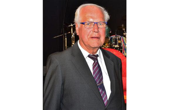 ASB-Präsidiumsmitglied Wilhelm Müller berichtet über die Geschichte des ASB