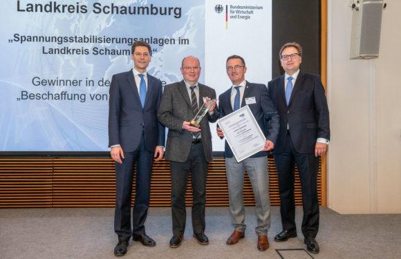 """Landkreis Schaumburg gewinnt BME-Preis 2019 """"Innovation schafft Vorsprung"""""""