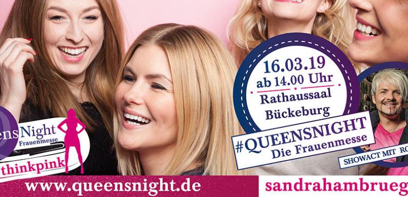 """Am 16. März im Rathaussaal Bückeburg: Frauenmesse """"Queensnight"""" mit Rouven Tyler live"""
