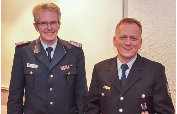 Deutsches Feuerwehr-Ehrenkreuz in Bronze für Marcus Bahr