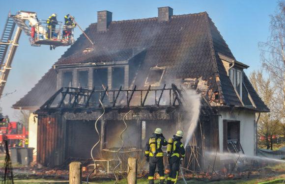 Einbruch und Brandstiftung in Rusbend/Hackshorst: Tatverdächtiger  festgenommen