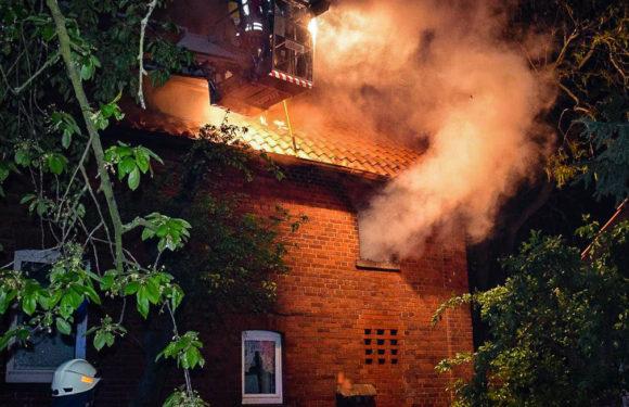 Obernkirchen: Mehrere Menschen bei Feuer in Wohnhaus verletzt