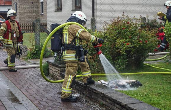 Brand im Keller: Feuerwehren verhindern Schlimmeres