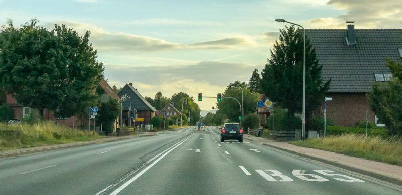Reparaturarbeiten auf der Bundesstraße 65 zwischen Sülbeck und Gelldorf