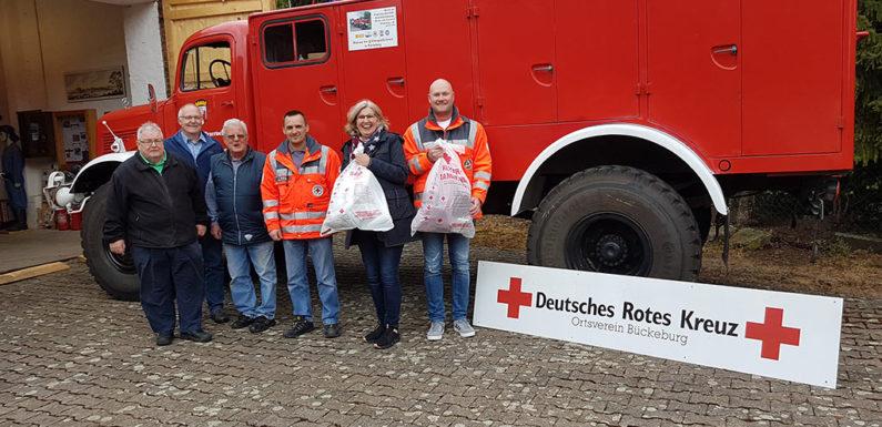 Kleidersammlung des DRK-Ortsvereins Bückeburg