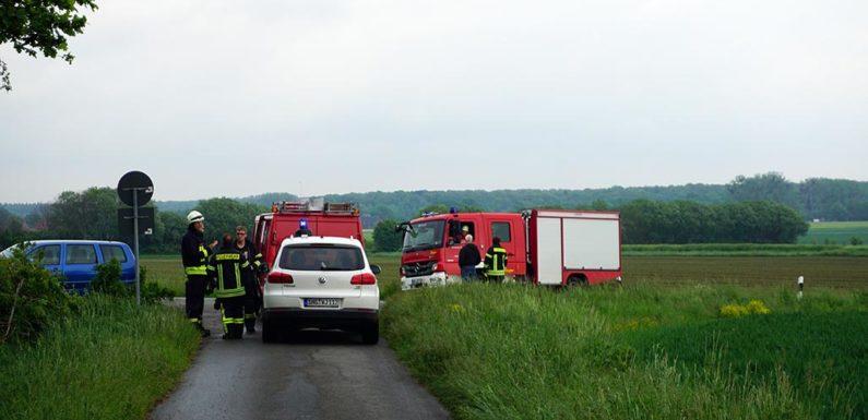 Feuerwehr rückt vergeblich aus