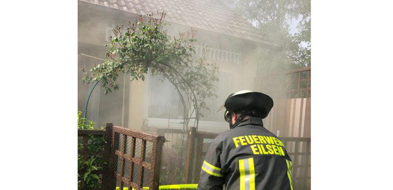 Bad Eilsen: Angebranntes Essen löst Feuerwehreinsatz aus