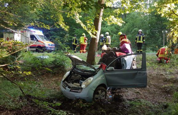 Rusbend: Schwerer Verkehrsunfall im Schaumburger Wald