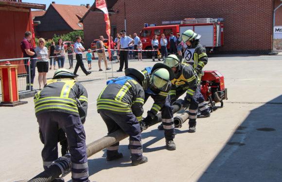 Ereignisreiches Wochenende für die Feuerwehren aus Eilsen