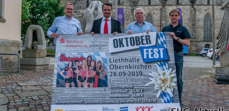 """""""O' zapft is"""" beim Oktoberfest in Obernkirchen: """"Die bayrischen Hiatamadln"""" sind zurück"""