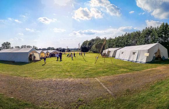 Sachsenhagen: Samtgemeinde-Kinderfeuerwehrzeltlager eröffnet