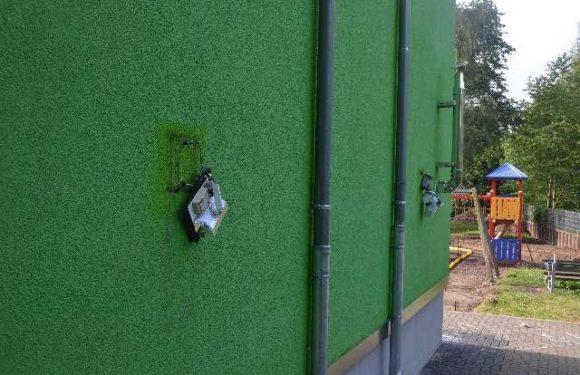 Vandalen hinterlassen Spuren der Verwüstung an Rodenberger Schulen