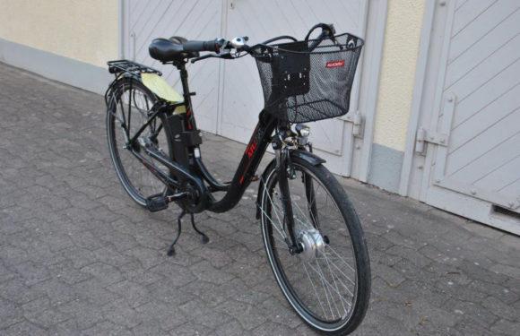 Polizei sucht Eigentümer dieses E-Bikes