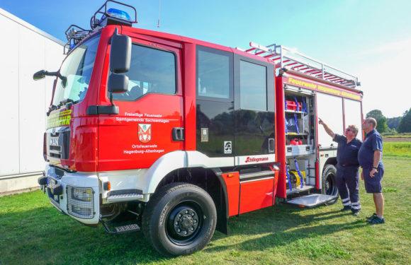 Neues Tanklöschfahrzeug für die Feuerwehr Hagenburg/Altenhagen