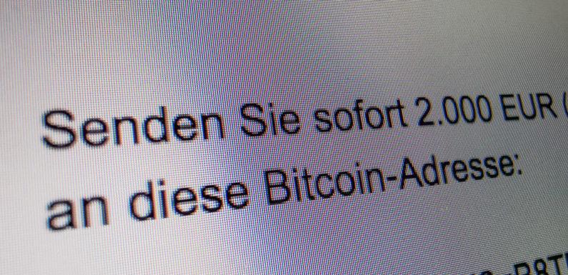 Erpresser fordern Bitcoins per E-Mail: Polizei warnt vor neuer Betrugsmasche