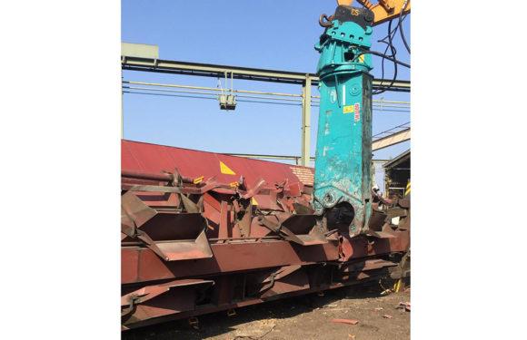 Nienstädt: Kesselwagen werden im Bahnhof verschrottet