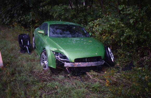 Glück im Unglück: Totalschaden am Auto, Fahrer unverletzt