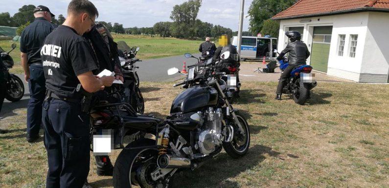 Umbauten und Lautstärke im Fokus: Motorradkontrolle am Steinhuder Meer