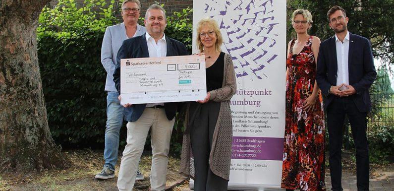 Westfalen Weser Energie-Gruppe spendet 4.000 Euro an Hospiz- & Palliativnetzwerk Schaumburg