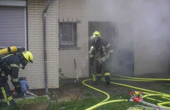 Feuerwehr übt Menschenrettung