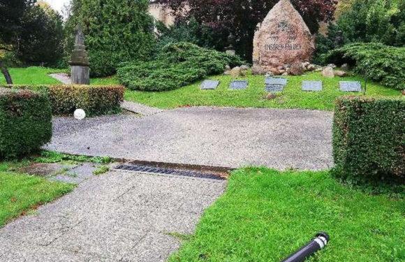 Bad Nenndorf: Sachbeschädigung auf Kirchengelände