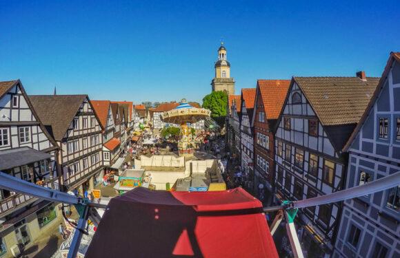 Rintelner Herbstmesse vom 1. bis 4. November in der historischen Altstadt