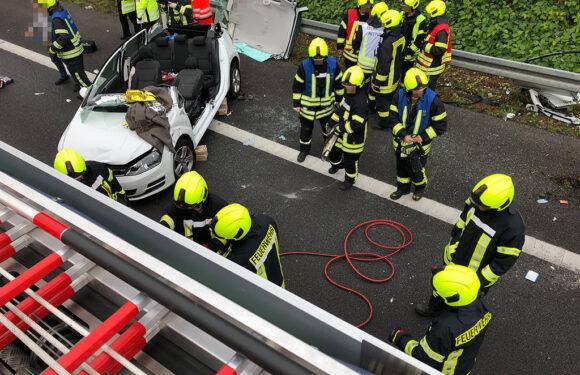 Schwerer Unfall auf A2 zwischen Lauenau und Rehren: Polizei sucht Zeugen