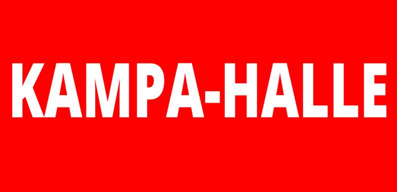 Kampa-Halle in Minden wird aus Sicherheitsgründen geschlossen