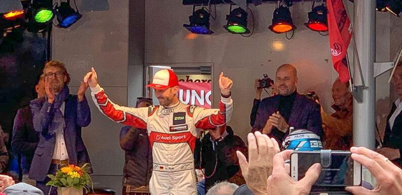Zweifacher DTM-Champion René Rast zu Besuch in Minden