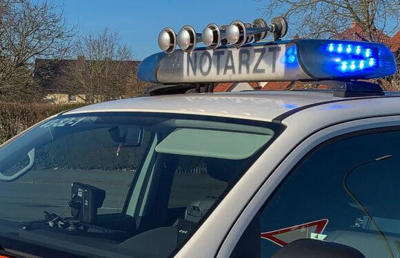 Tödlicher Verkehrsunfall auf B65 bei Müsingen