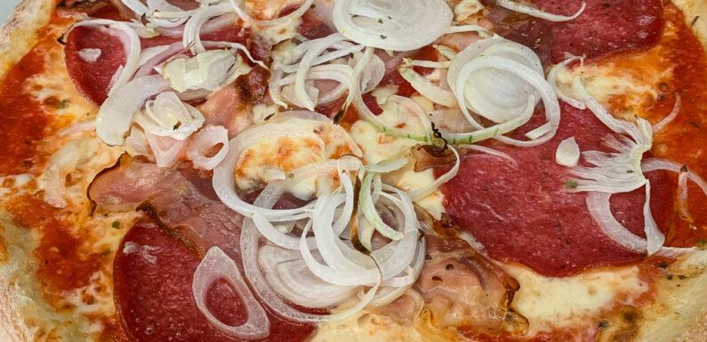 Pizza ist da!