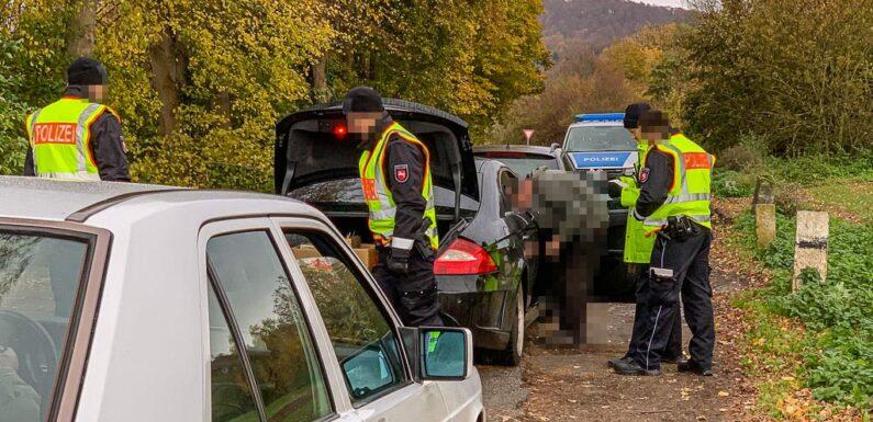 Polizei-Aktion zur Bekämpfung der Einbruchskriminalität: 242 Fahrzeuge und 277 Personen kontrolliert und überprüft