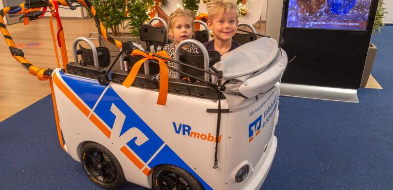 Kitas können sich mit Video bewerben: Volksbank in Schaumburg vergibt fünf Kinderbusse im Wert von 25.000 Euro