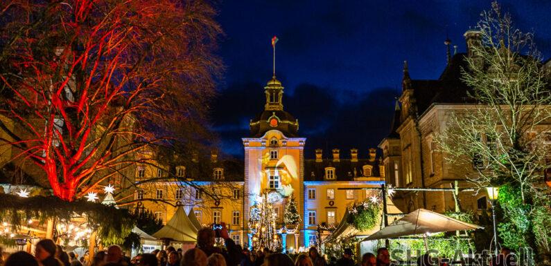 Fabelhafte Winterwelten: Der Weihnachtszauber auf Schloss Bückeburg wird märchenhaft