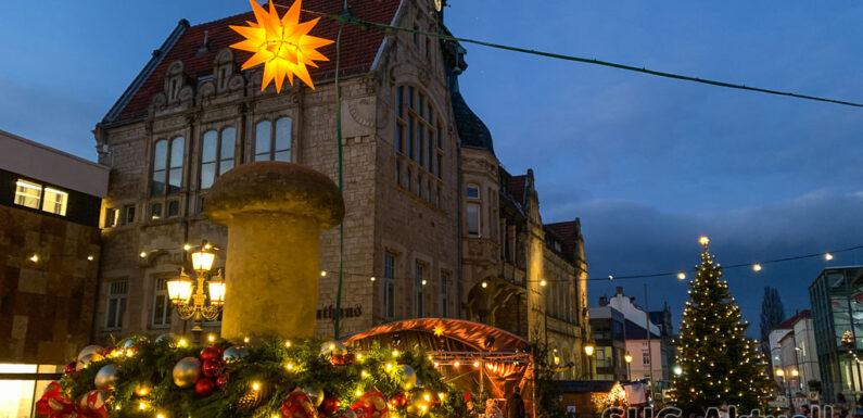Bückeburg: Weihnachtsmarkt abgesagt, Christbaumkugeln ab 1.12. im Verkauf