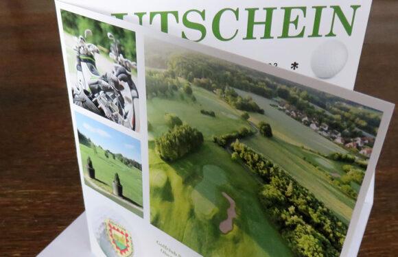 Geschenkidee: Gutscheine für Schnupperkurs beim Golfclub Schaumburg erhältlich